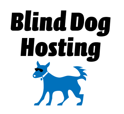 blind dog hosting